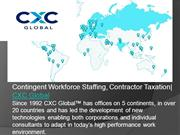 Employment Classification , Talent Management   Cxcglobal.com