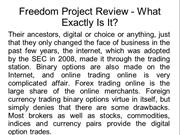 Freedom Project Review - What Exactly Is It?