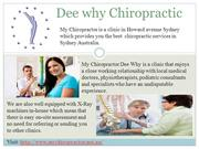 Dee why Chiropractic