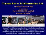 Power Cable Joints Manufacturers India