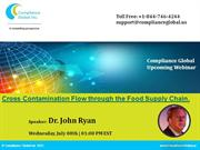 Cross Contamination Flow through the Food Supply Chain.