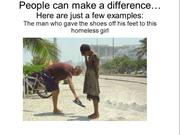 People can make a difference