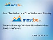 Free Classified ads and Canadian business directory_Business directory