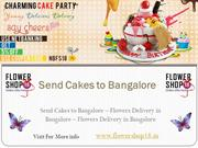 Send Cakes to Bangalore