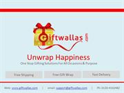Giftwallas - PPT new 3.7.15