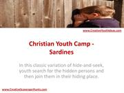 Christian Youth Camp - Sardines