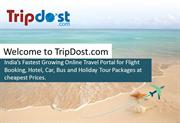 Welcome to TripDost