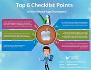 Top 6 Checklist points to hire iPhone app developer