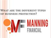 What are the different types of business protection