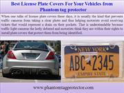 Best License Plate Covers For Your Vehicles