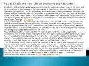 The DBS Check and How It Helps Employers and Recruiters