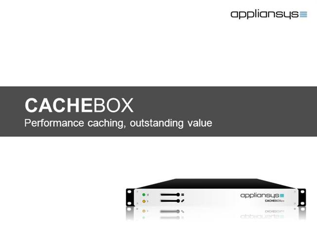 CACHEBOX Introduction Isps |authorSTREAM