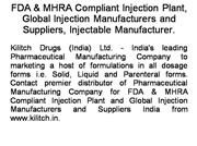 Pharmaceutical Formulations Supplier
