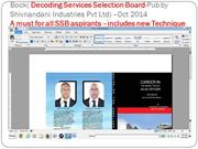 Decoding SServices Selection Board