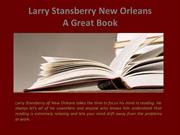 Larry Stansberry New Orleans_ A Great Book