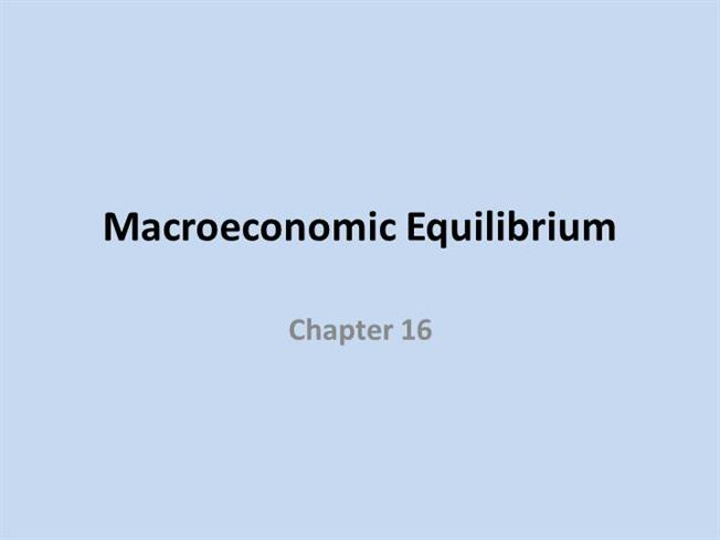 Chapter 16 macroeconomic equilibrium authorstream toneelgroepblik Gallery