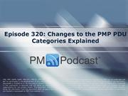 Episode 320_Changes to the PMP PDU Categories Explained