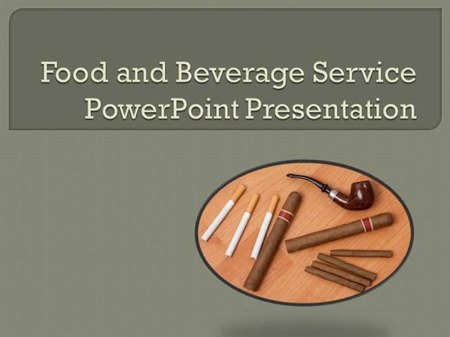 food and beverage service powerpoint presentation |authorstream, Powerpoint templates