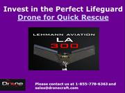 Invest in the Perfect Lifeguard Drone for Quick Rescue
