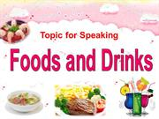 Foods and Drinks - Ms. Hằng