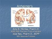 Alzheimers Updated Presentation
