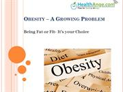 Obesity - A Growing Problem