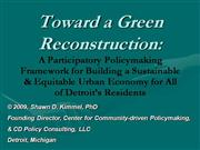 Toward  a  Green  Reconstruction  of  Detroit