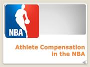 Athlete Compensation in the NBA