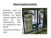 Water chiller system