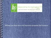 BPHope.com Helps those with Depression Symptoms find Treatment