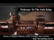 The Sofa King - Sofa Range