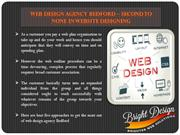 Web Design Agency Bedford – Second to None
