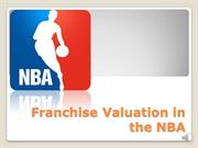 Franchise Valuation in the NBA