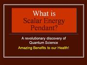 SCALAR ENERGY -BIOLIFE