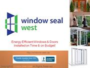 Energy Efficient Windows & Doors Installation Calgary