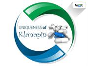 Uniqueness of klonopin for anxiety / depression