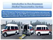 Introduction to Non-Emergency Ambulance Transportation