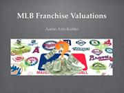 Franchise Valuations