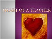 HEART OF A TEACHER