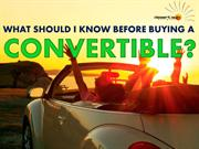 What Should I Know Before Buying A Convertible?