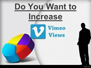 Get Vimeo Views for Video Popularity