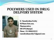 polymers in drug delivery system