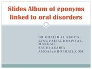 Slides Album of eponyms linked to oral disorders