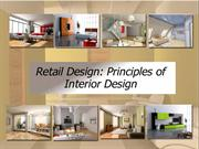 Retail Design- Principles of Interior Design