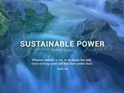 Sustainable Power - Control
