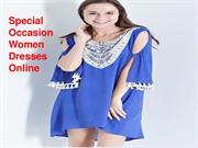 Special Occasion Women Dresses Online