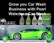 Grow you Car Wash Business with Pearl Waterless Car Wash