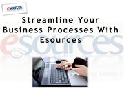 Streamline Your Business Processes With Esources