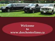 Get Limo Service in London at Dorchester Limo