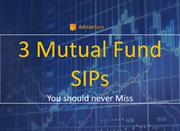 3 SIP TO INVEST FOR MONTHLY SAVINGS